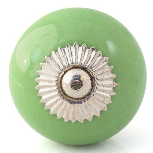 green door knobs photo - 10