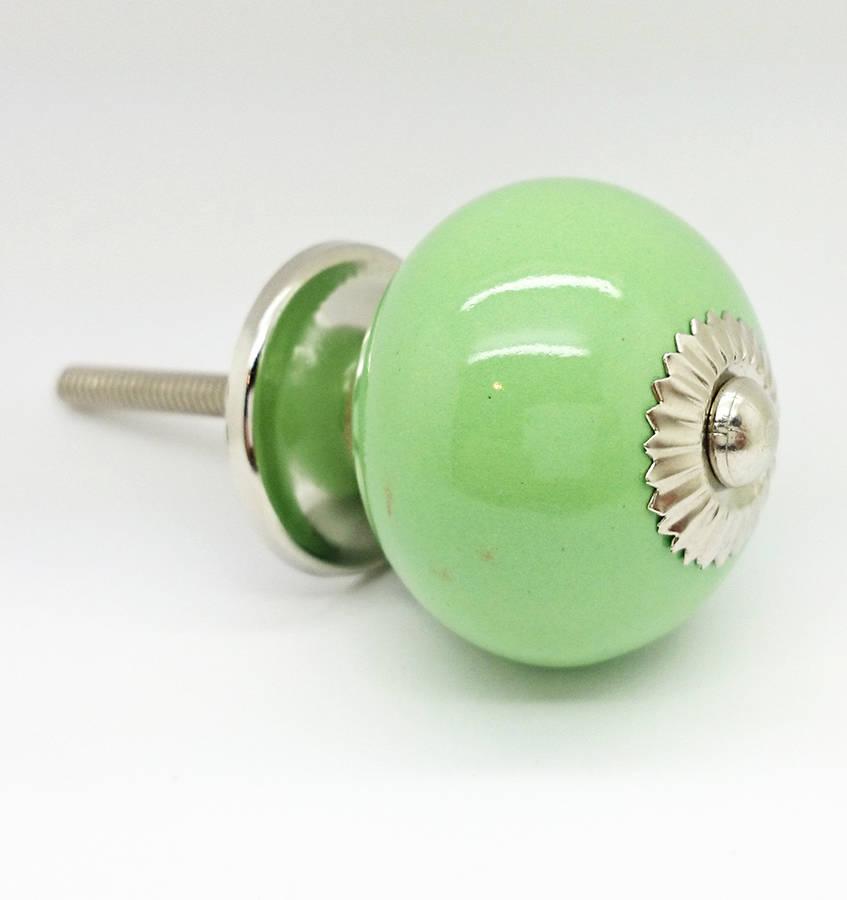 green door knobs photo - 18