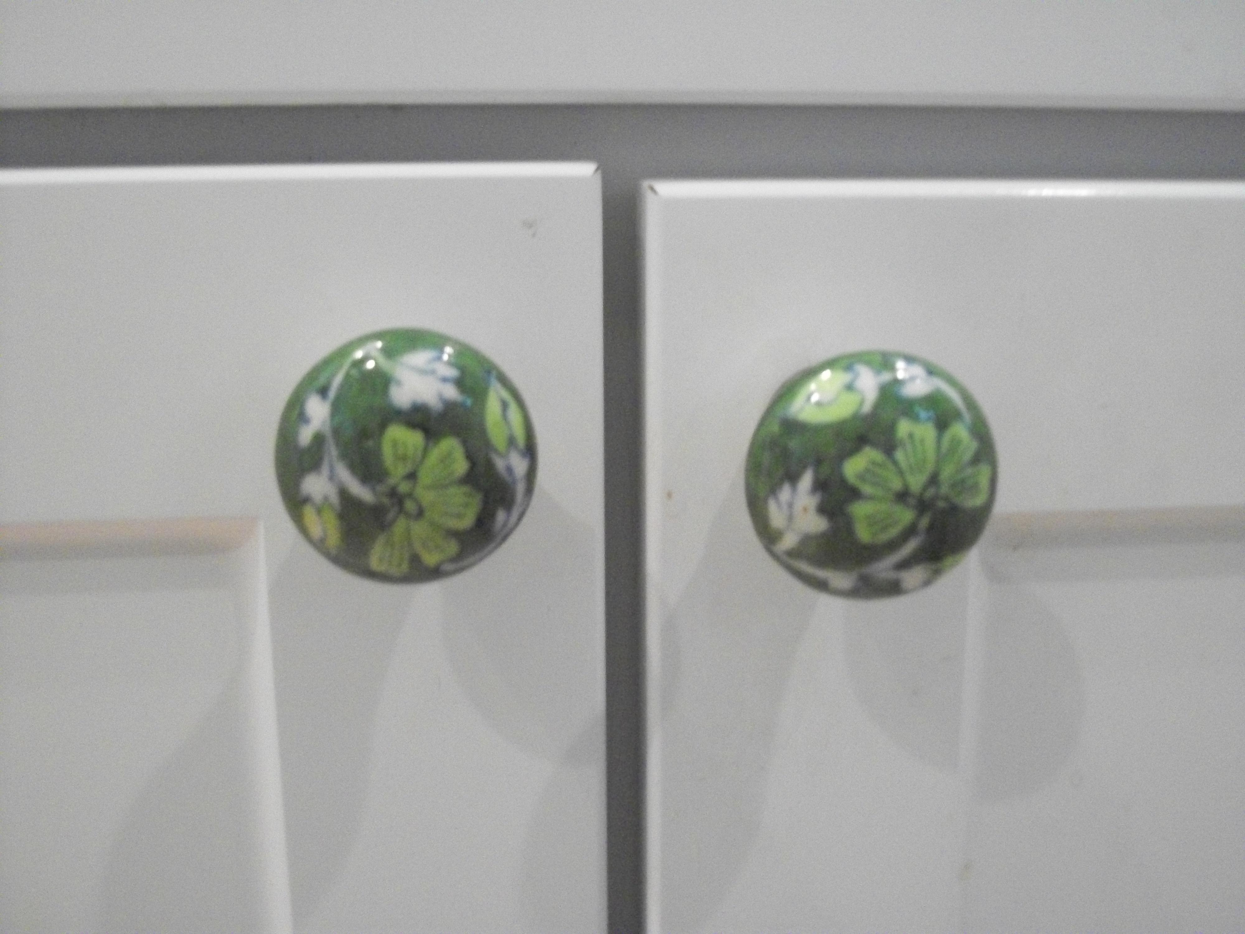 green door knobs photo - 5