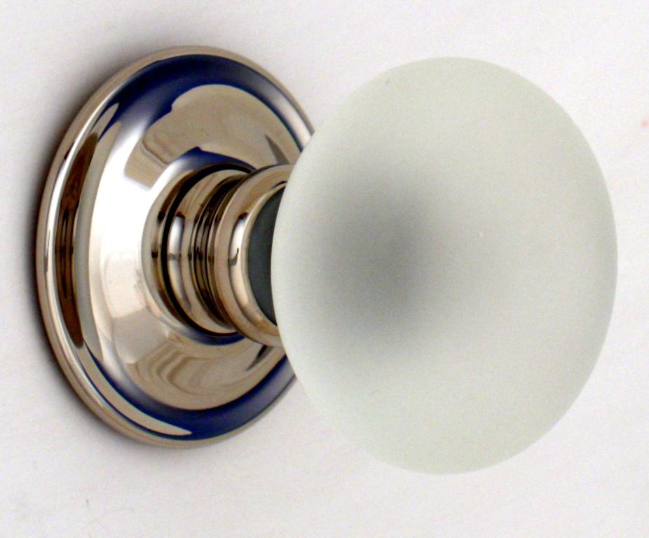 green glass door knob photo - 8