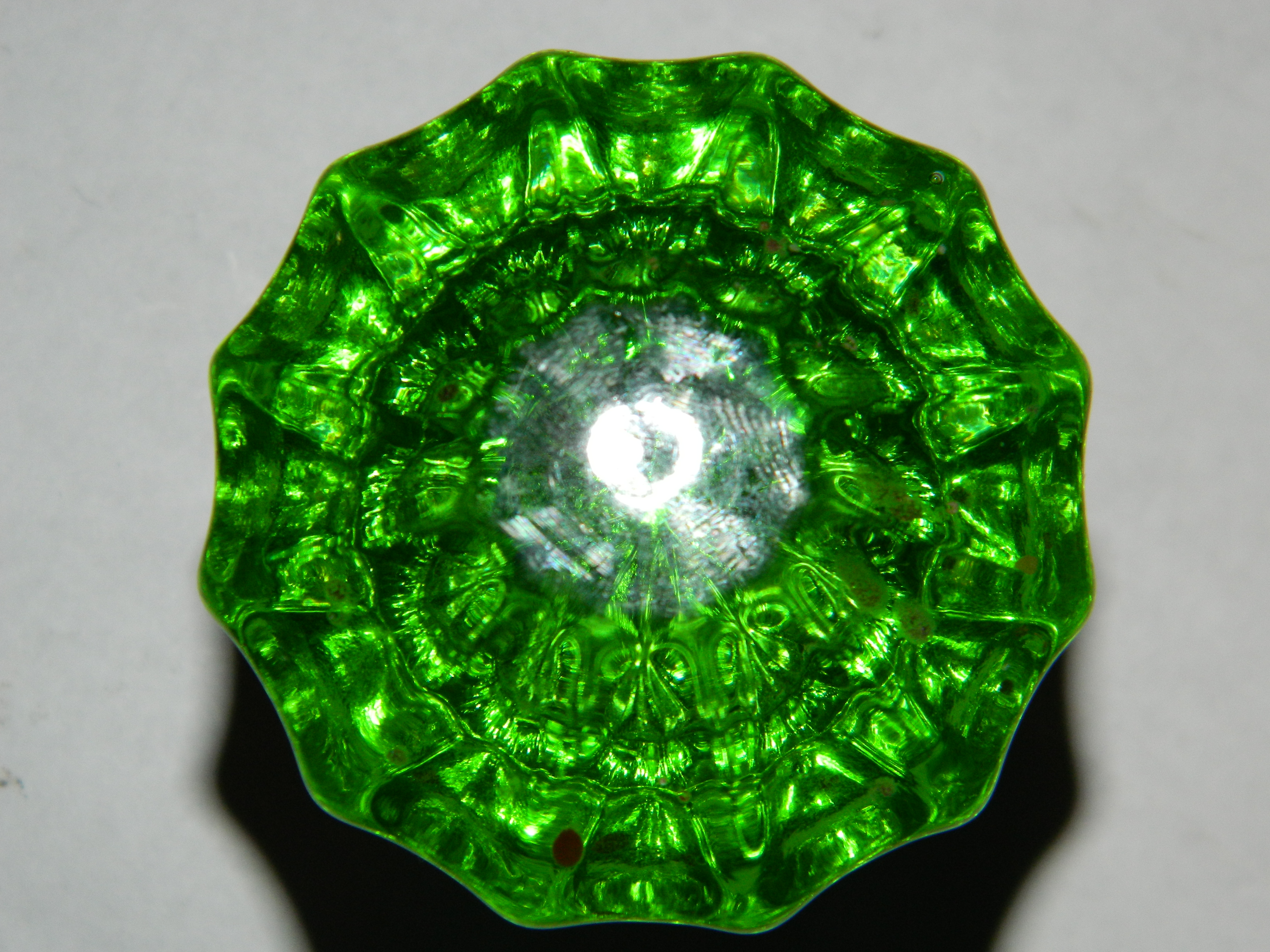 green glass door knobs photo - 19