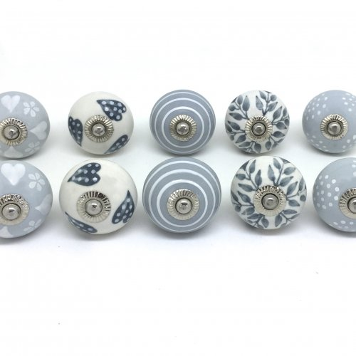 grey door knobs photo - 9