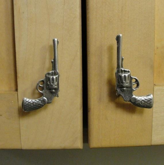 gun door knobs photo - 10