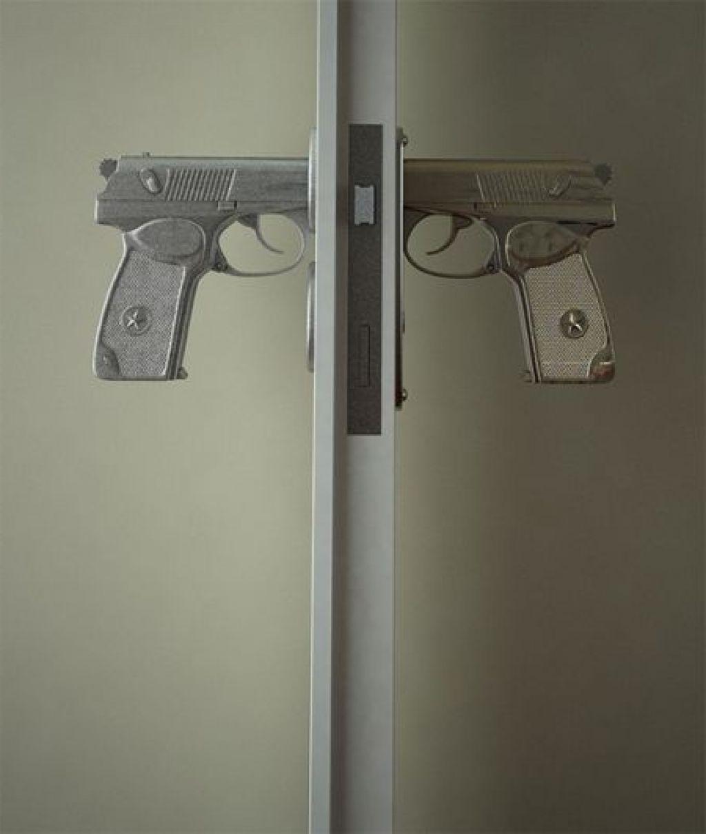 gun door knobs photo - 6