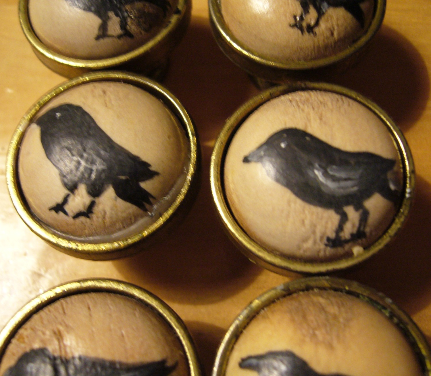 hand painted door knobs photo - 1
