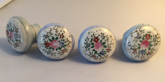 hand painted door knobs photo - 10