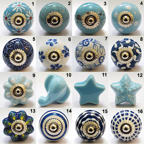 hand painted door knobs photo - 11