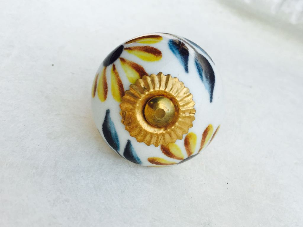 hand painted door knobs photo - 13