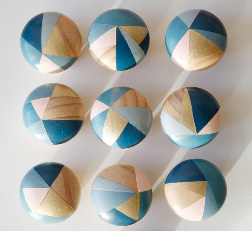 hand painted door knobs photo - 15