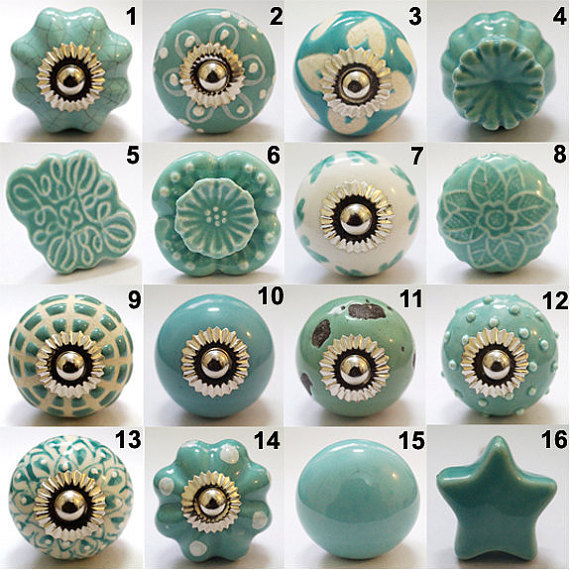 hand painted door knobs photo - 18