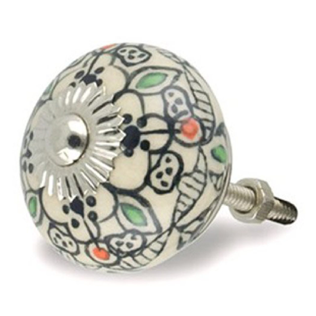 hand painted door knobs photo - 3