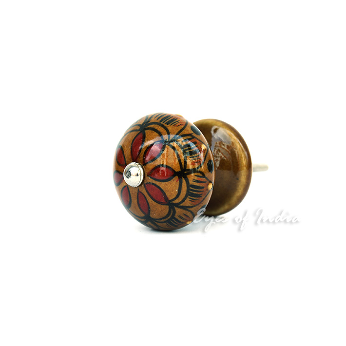 hand painted door knobs photo - 5