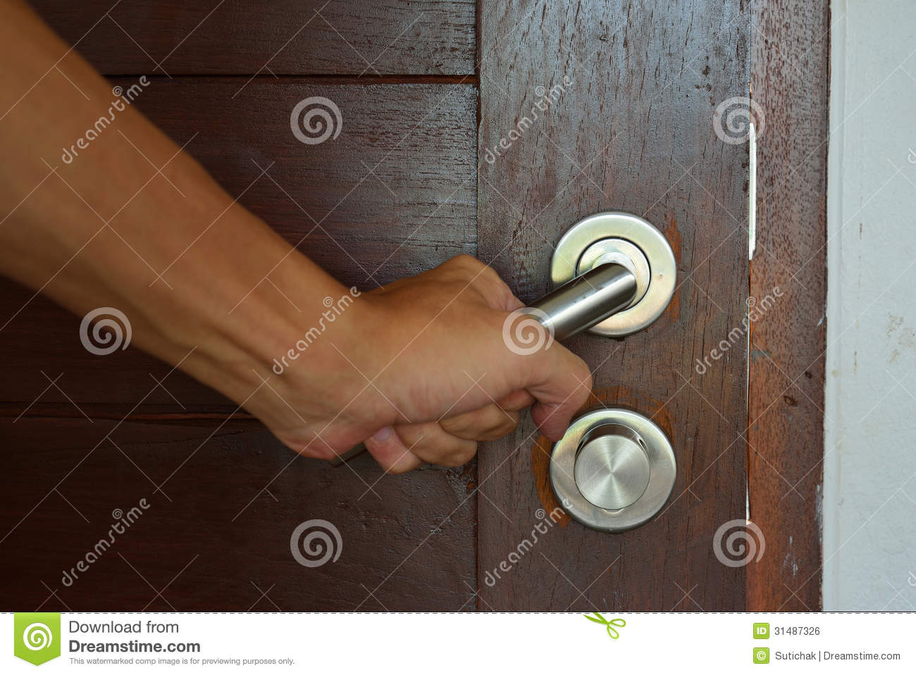 handshake door knob photo - 10