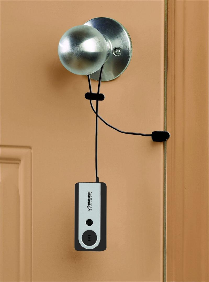 hanging door knob alarms photo - 4