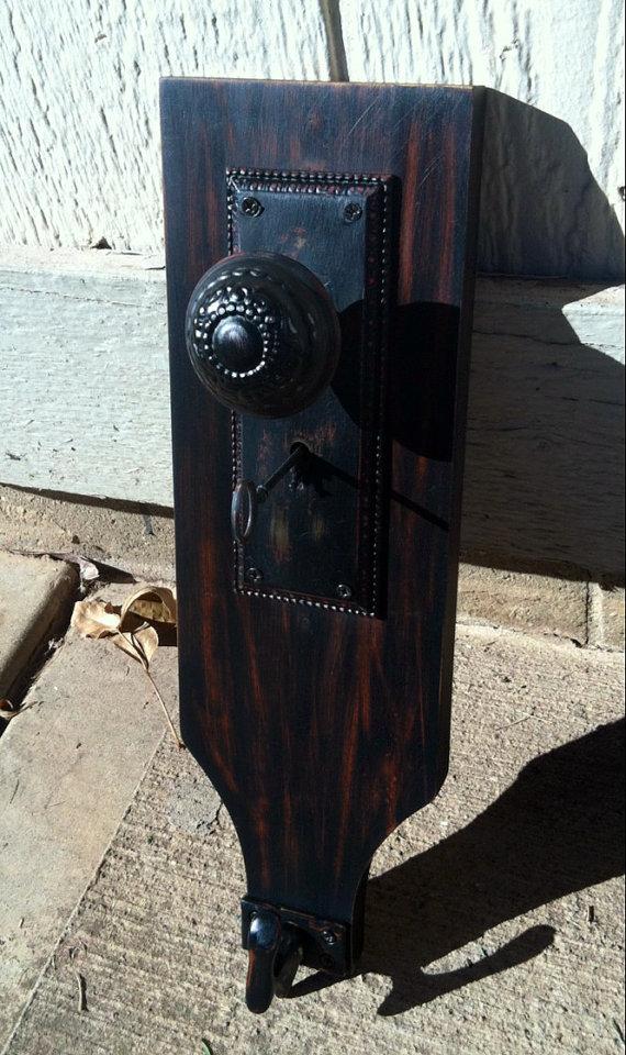 hanging from door knob photo - 11