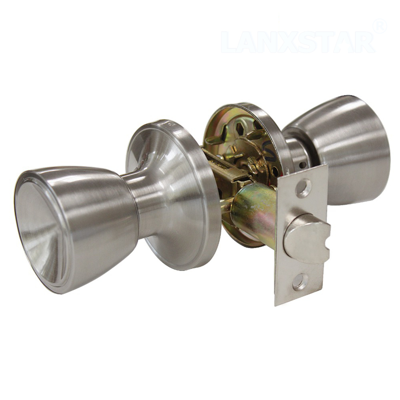 indoor locking door knobs photo - 12