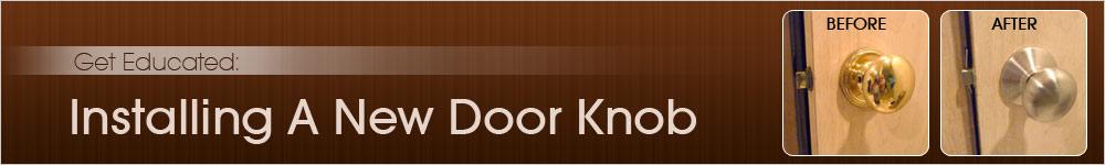 installing door knob photo - 6