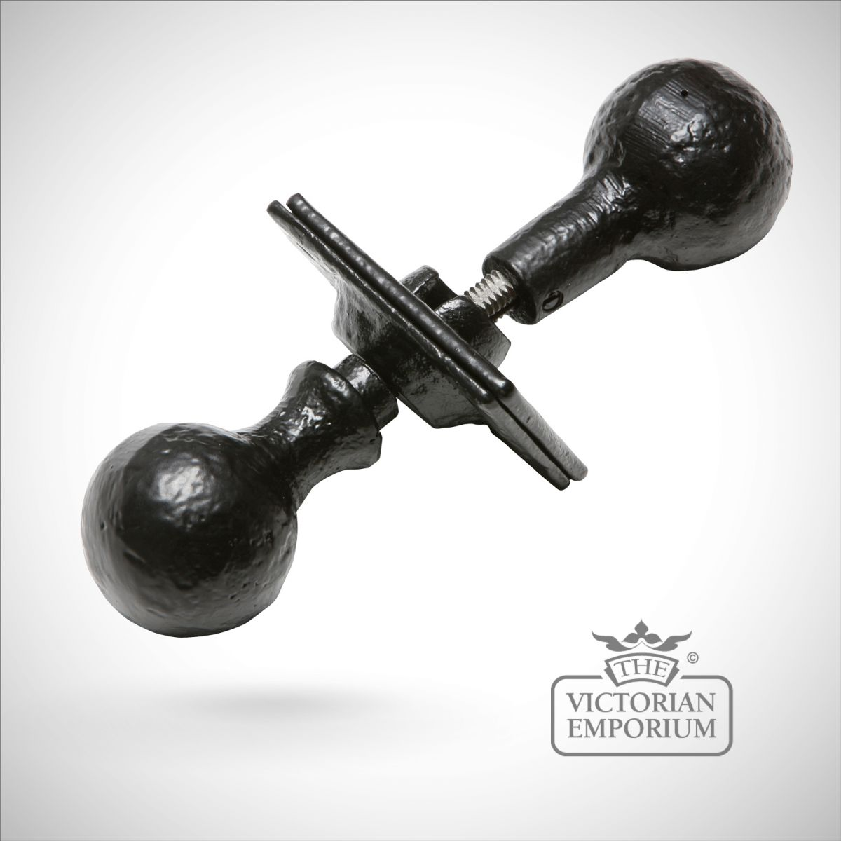 iron door knobs photo - 2