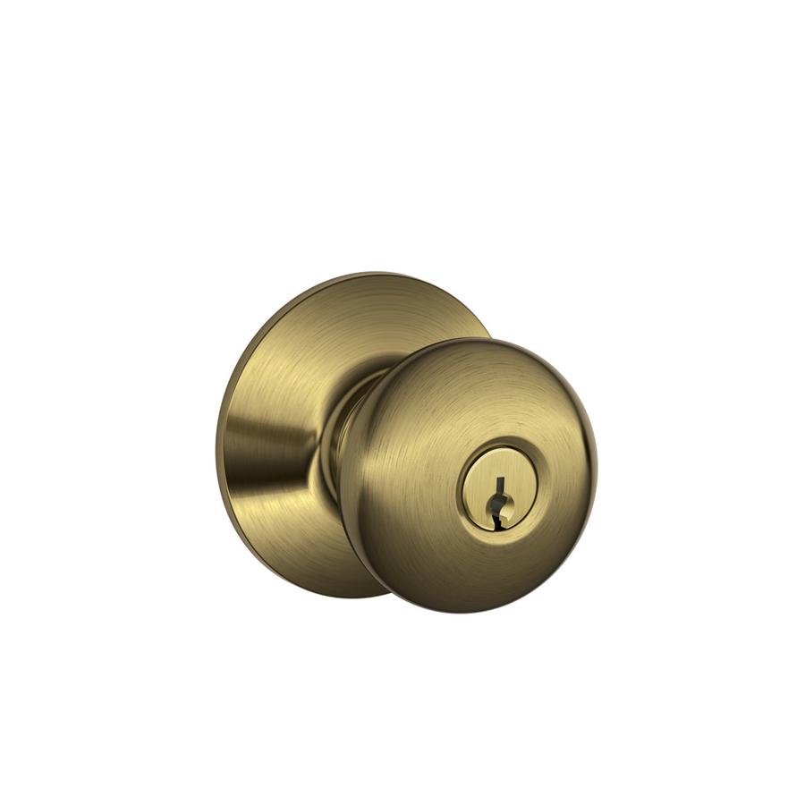 keyed door knobs photo - 11