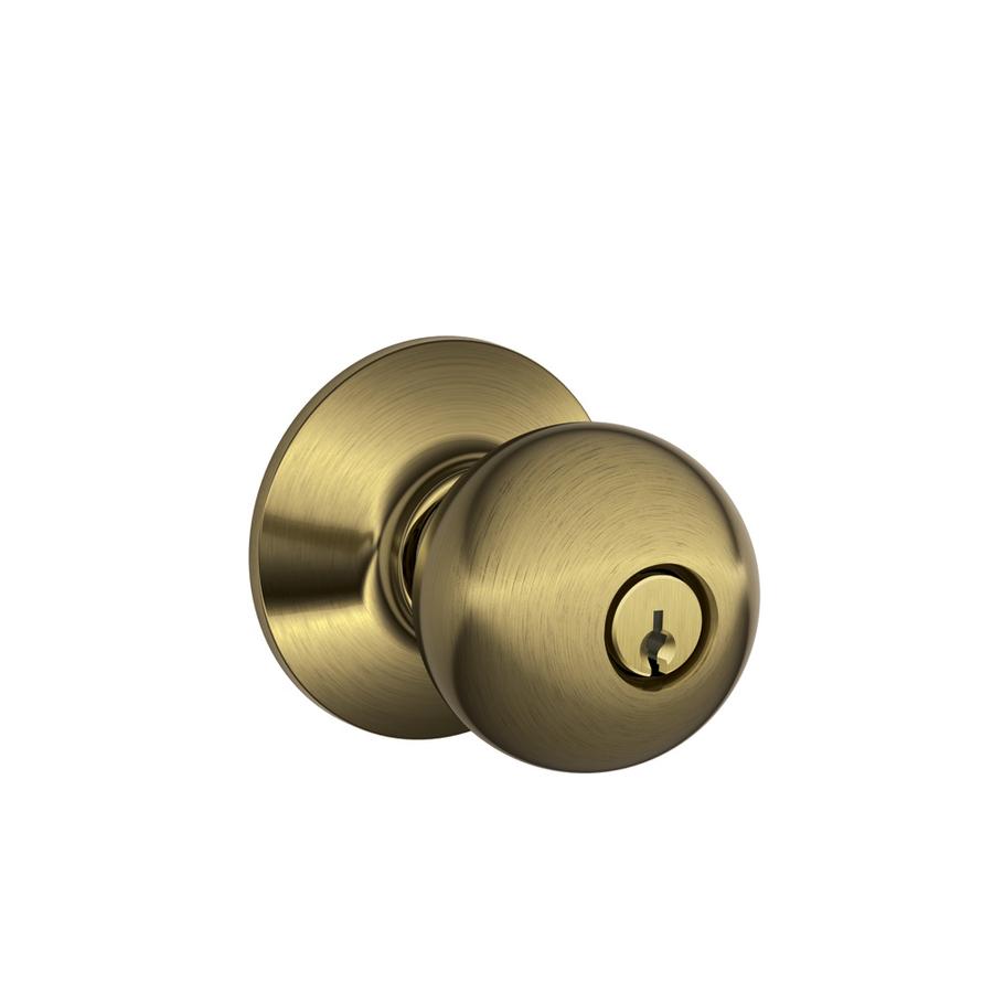 keyed door knobs photo - 19