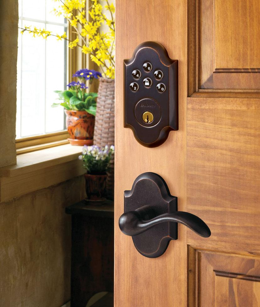 keyless entry door knob photo - 4