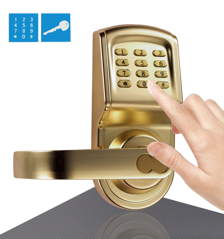 keypad door knob photo - 19