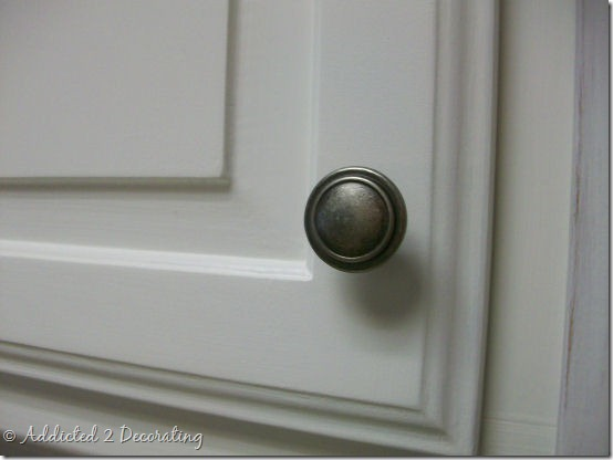 Kitchen Cabinet Door Knob Placement