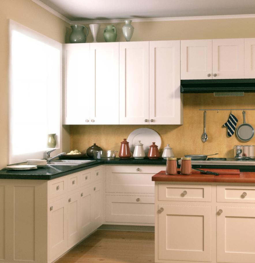 kitchen cabinet door knob placement photo - 3