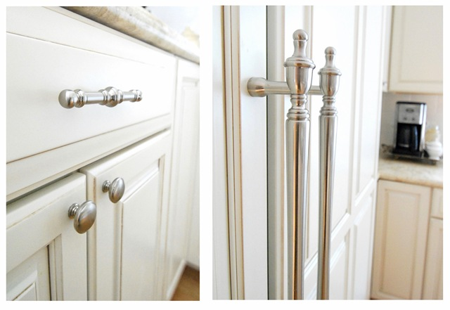kitchen cabinets door knobs photo - 12