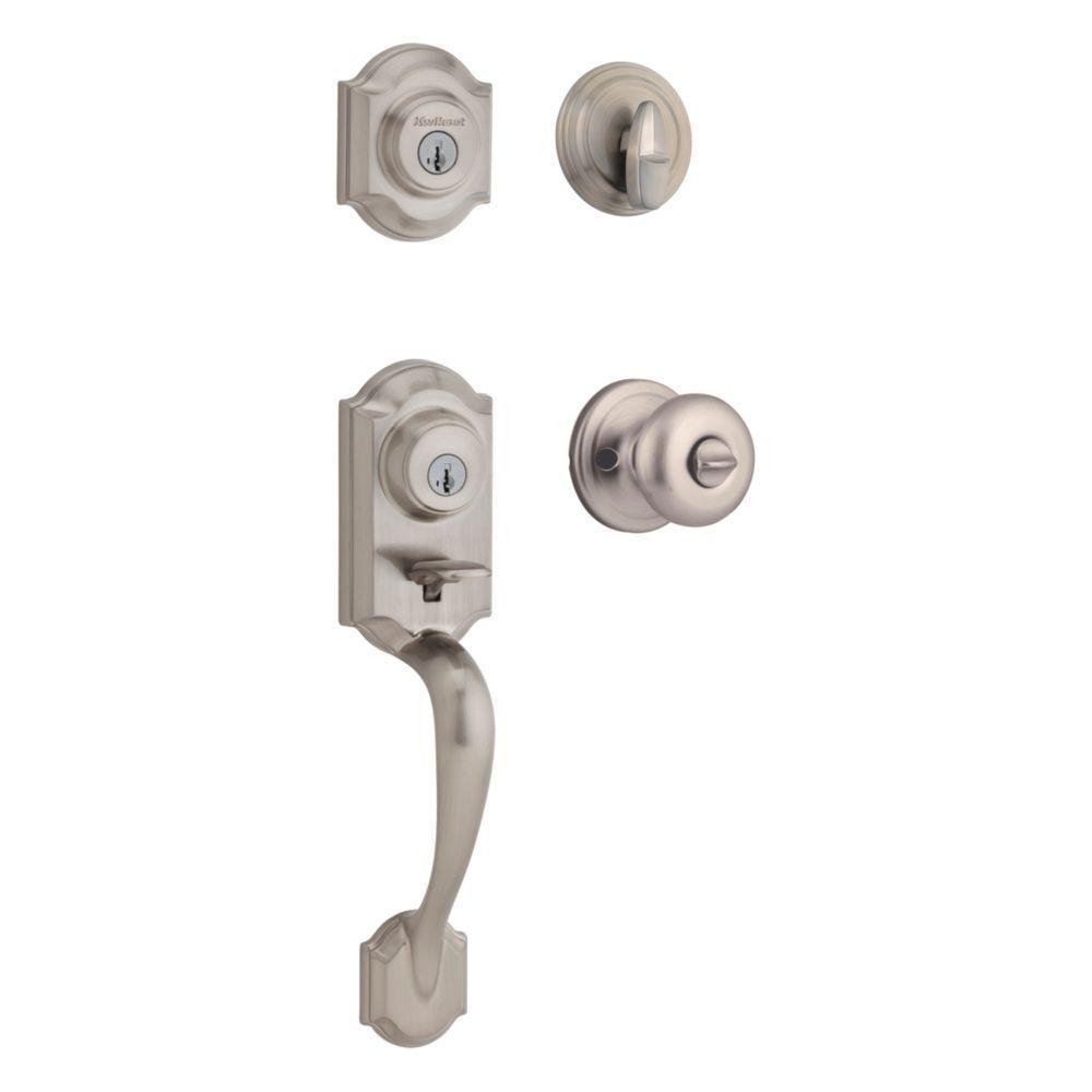 kwikset door knob removal photo - 11