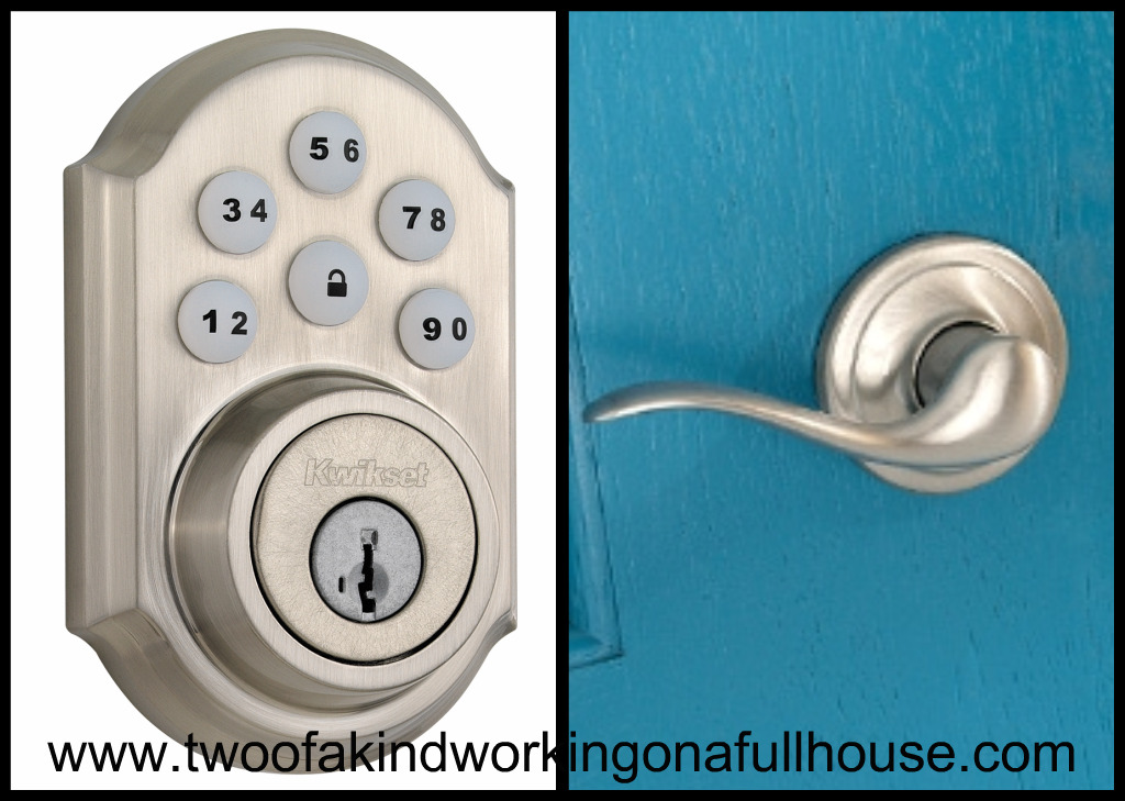 kwikset door knob removal photo - 14