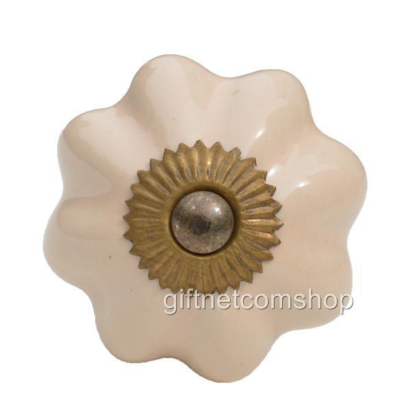 large ceramic door knobs photo - 20