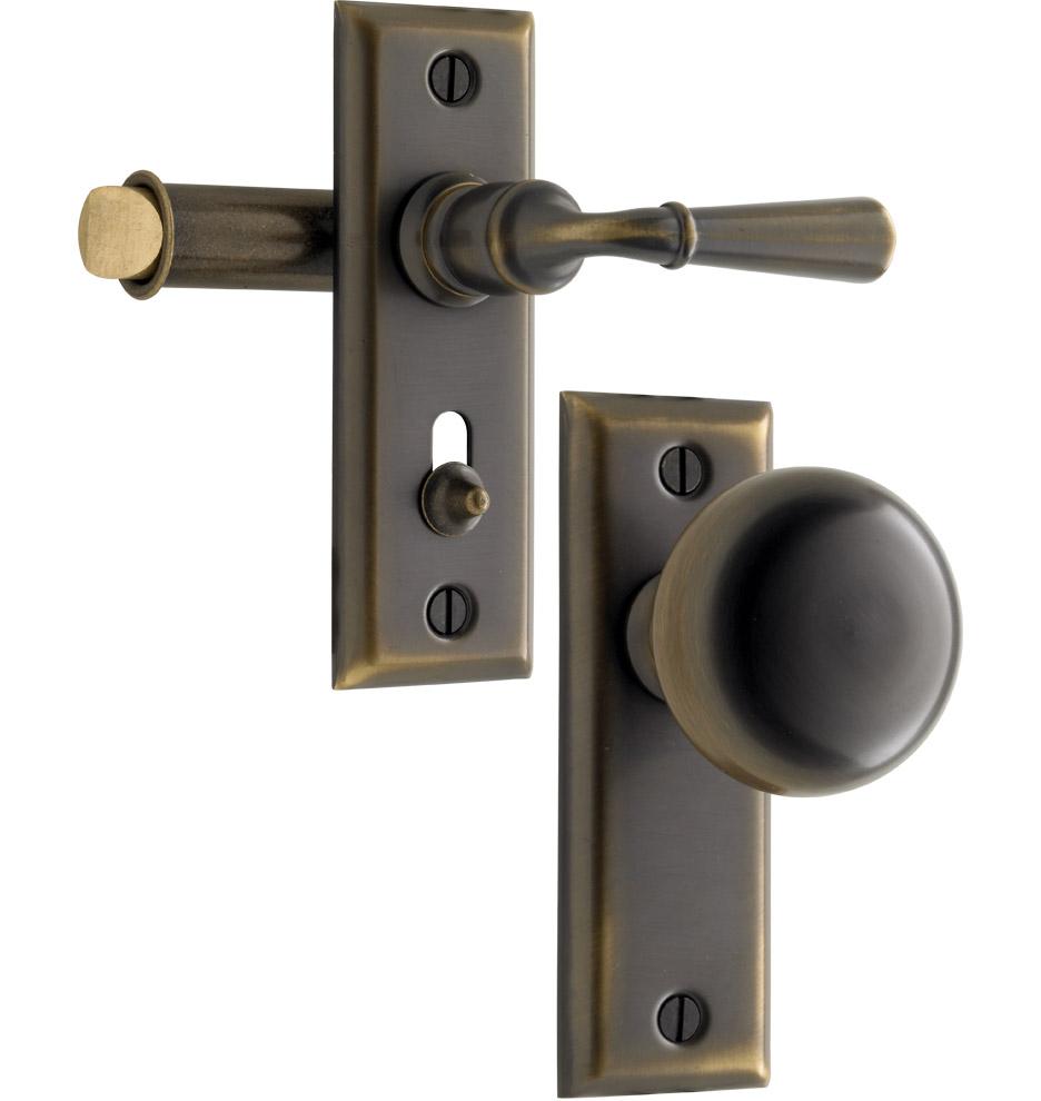 latch door knob photo - 2