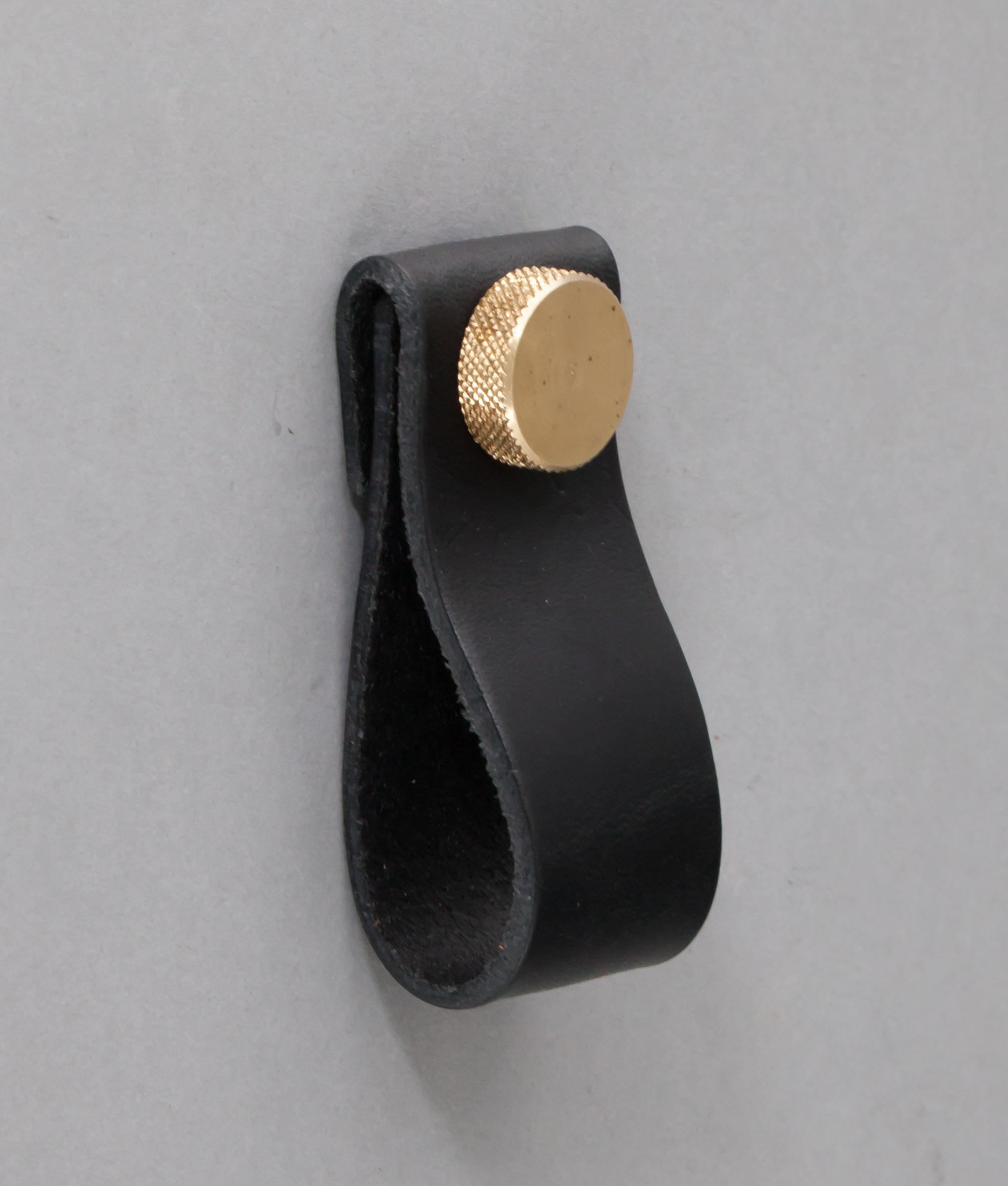 leather door knobs photo - 15