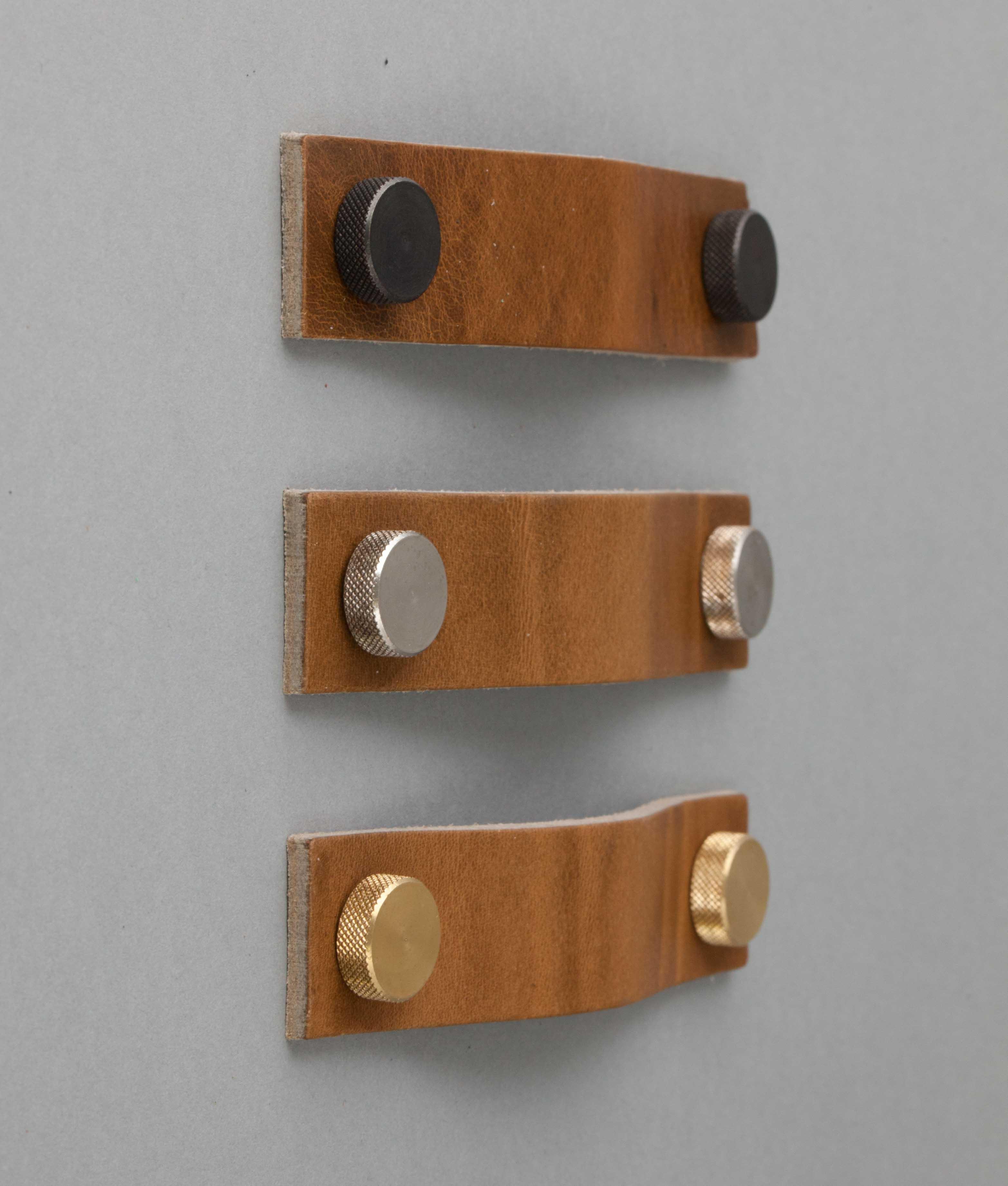 leather door knobs photo - 7