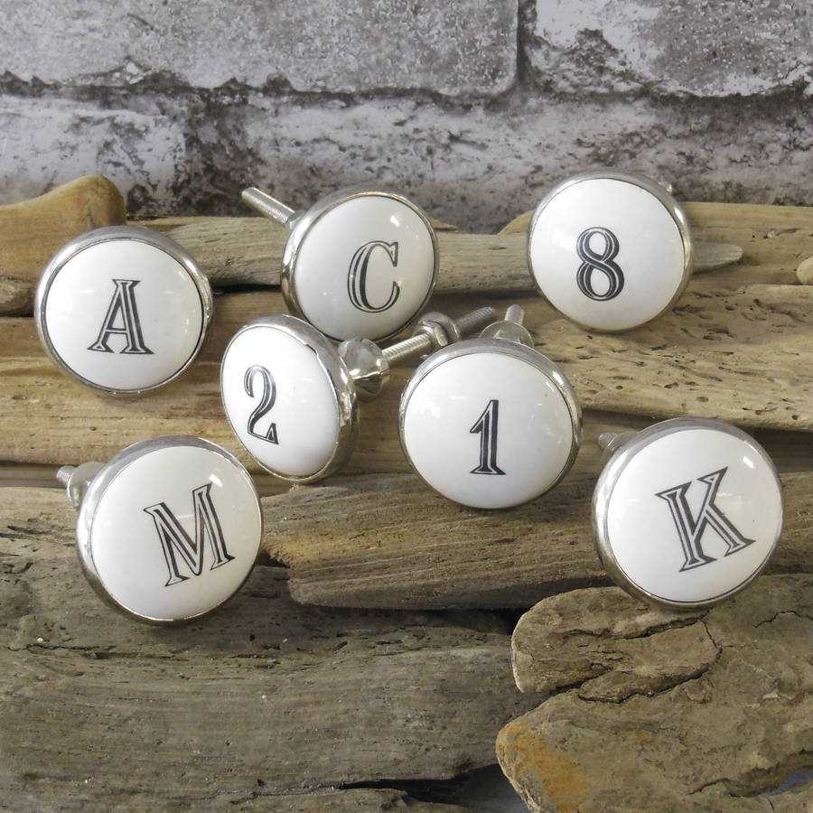 letter door knobs photo - 20