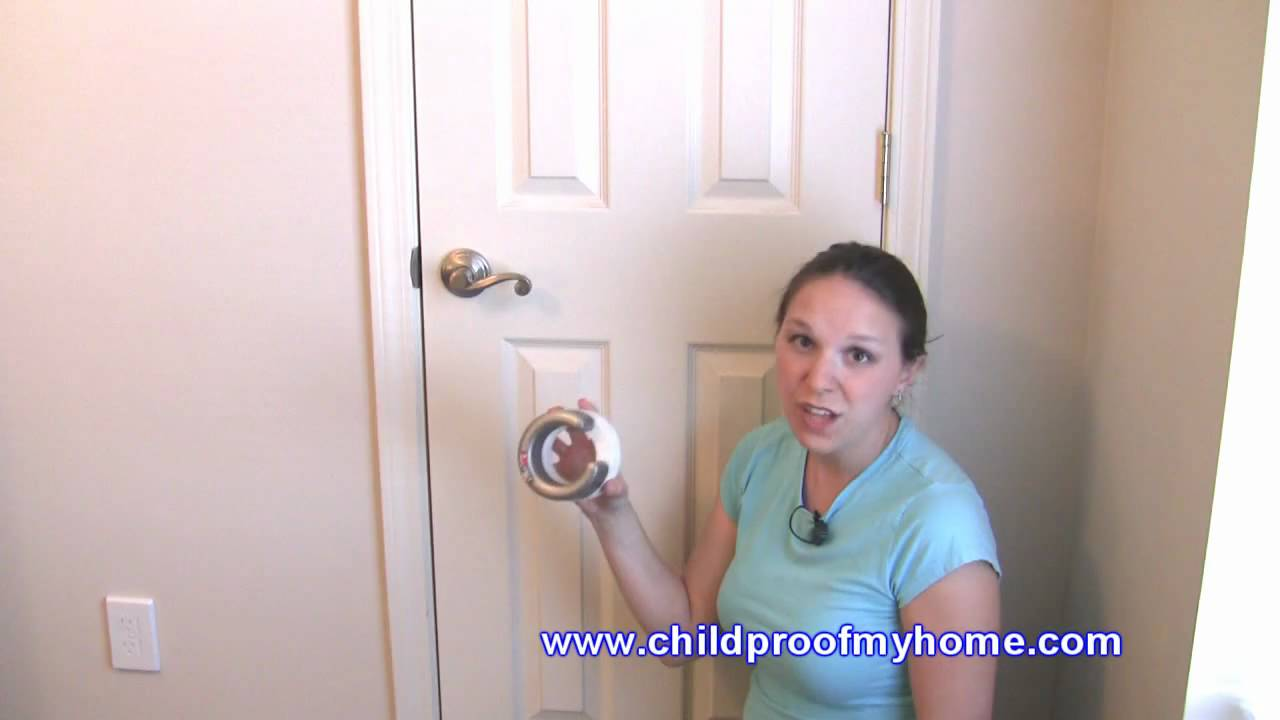 lever door knob child proof photo - 16