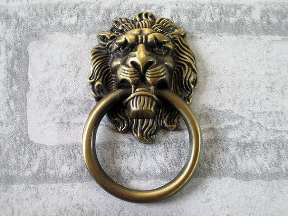 lion head door knob photo - 15