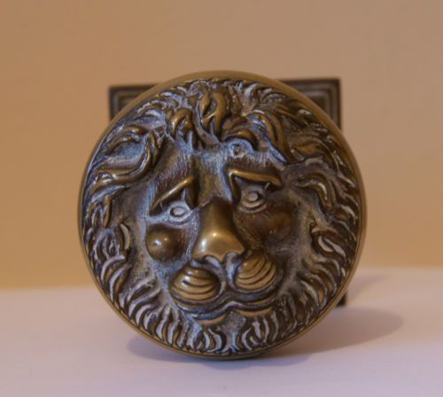 lion head door knob photo - 19