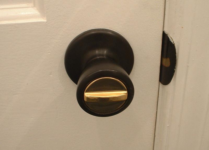 lock door knob photo - 12