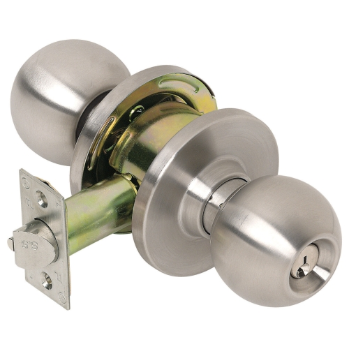 locking door knob photo - 10