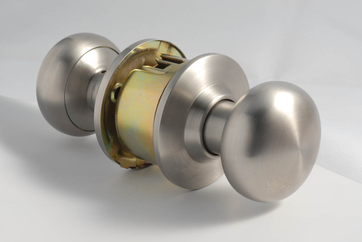 locking door knob photo - 12