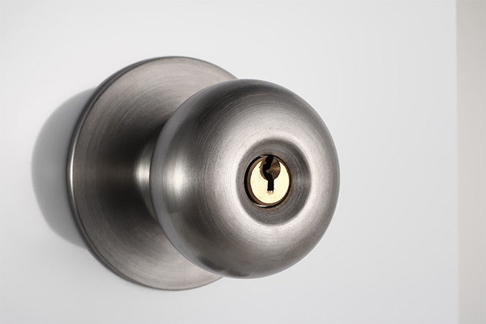 locking door knob photo - 17