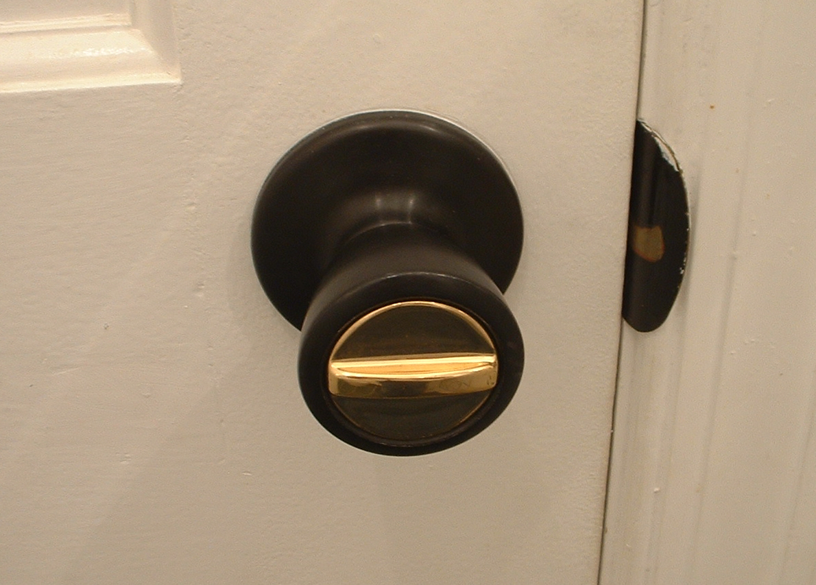 locking door knob photo - 3