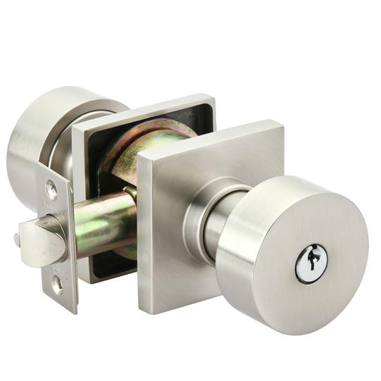 low profile door knob photo - 12