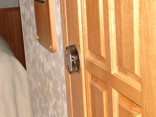 low profile door knob photo - 6