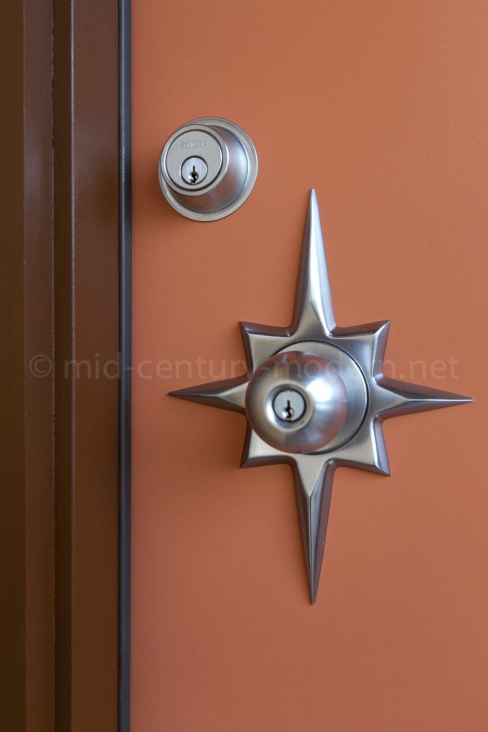 mid century modern door knobs photo - 5