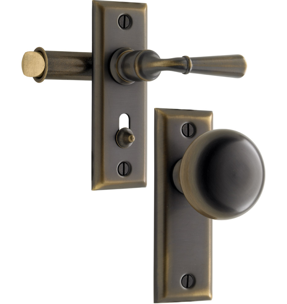 mission style door knobs photo - 2