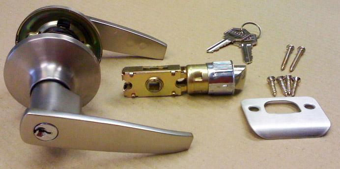 mobile home door knobs photo - 17