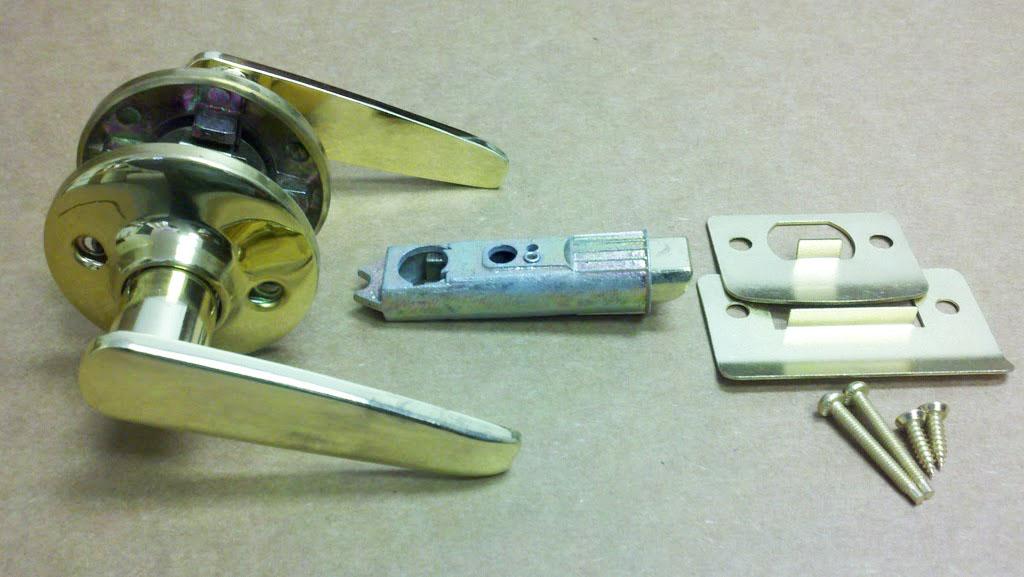 mobile home door knobs photo - 4
